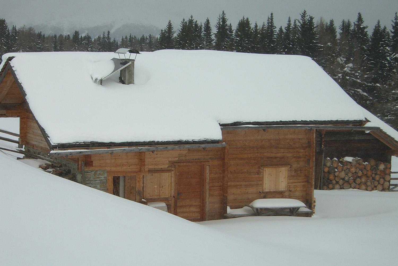 Almhütte in Südtirol - Rodenecker Alm - Galtinerhof Almhütte Laffaa
